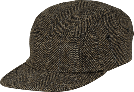 HERRINGBONE CAMP CAP